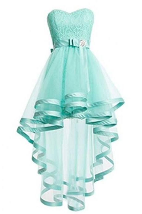 Turquoise Homecoming Dresses A lines Prom Dresses
